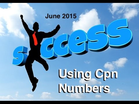 HOW TO DETECT BAD CPN NUMBERS AND SELECT CPN NUMBERS THAT WORK JUNE 2015