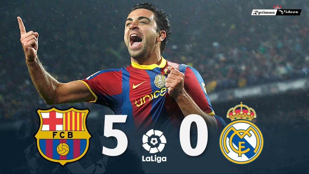 Barcelona 5 x 0 Real Madrid ● La Liga 10/11 Extended Goals & Highlights HD
