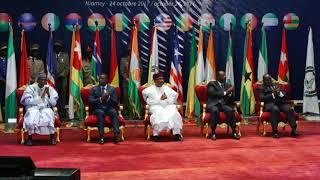 Le Président Ouattara à la réunion sur la monnaie unique de la CEDEAO à Niamey
