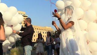Activists celebrate in Beirut as Lebanon scraps reviled rape law