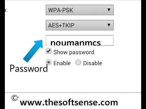 how to show passoword of ptcl evo, change ptcl evo password WPA pre-shared key