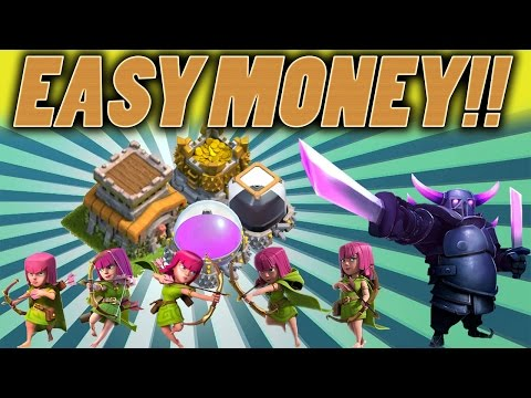 Clash of Clans | HOW TO GET DARK ELIXIR FAST TH8 Easy Dark Elixir, Gold, Elixir, Farming