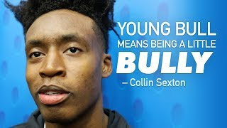 Collin Sexton Opens Up On YOUNG BULL NICKNAME! Talks Trae Young & Playing 3 On 5 At NBA Combine!