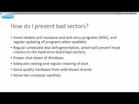 Windows 7   Understanding Windows Disk Check Command   Tutorial