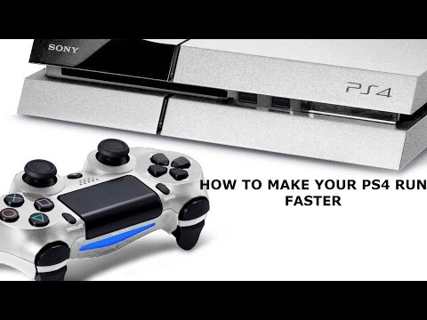 How To Make Your PS4 Alot Faster.