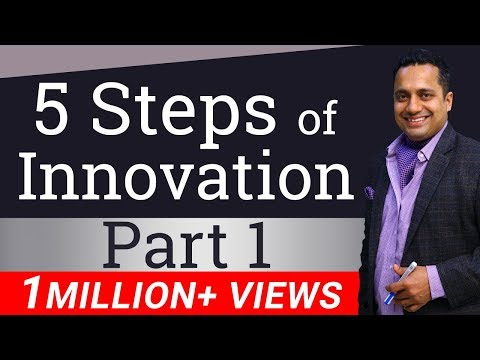 5 Steps of Innovation | Part 1 | Hindi | By Dr Vivek Bindra | Leadership Trainer