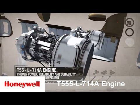 Honeywell's T55-L-714A Engine -- Chinook Helicopter | Defense & Space | Honeywell