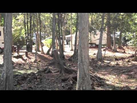 Disney's Fort Wilderness Resort Campsite Tour