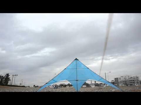 Blue Bird 6 - Plastic Bag Stunt Kite