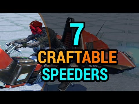 7 Mounts You Can Craft in SWTOR with Cybertech