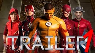 SPEED FORCE (The Flashes) Fan Theatrical Trailer - Grant Gustin, Ezra Miller, Kyle Gallner