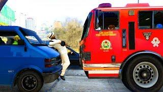 Wird er diesen Unfall in GTA Online überleben können? - Ge