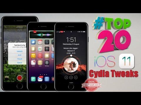 TOP 20 Brand New Cydia Tweaks For iOS 11-iOS 11.4.1