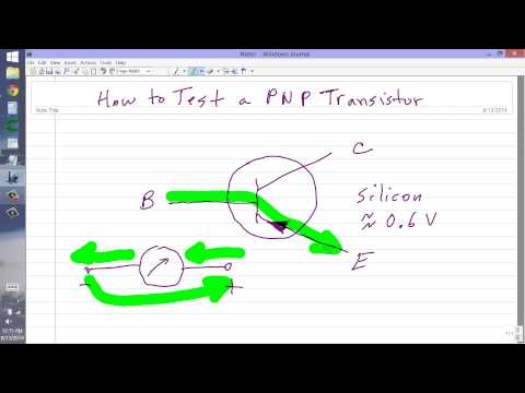How to Test a PNP Transistor