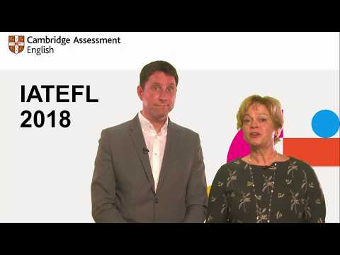 IATEFL 2018: Learning by design: creating a virtuous circle for progression