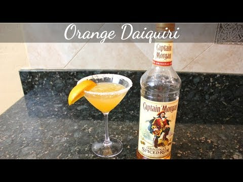 How To Make An Orange Daiquiri: Easy Cocktail Recipes