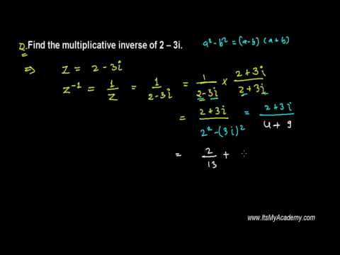Trick to Find Multiplicative Inverse of Complex Number