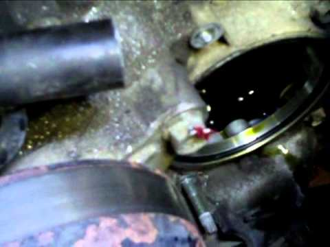 Water pump removeal on a duramax