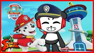 Paw Patrol on a Roll PUPPY HEROES ! Let