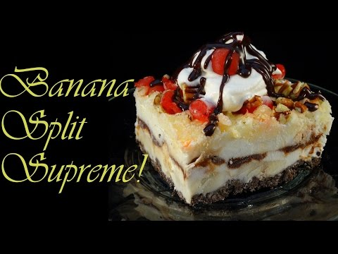 Banana Split Supreme Frozen Treat - with yoyomax12