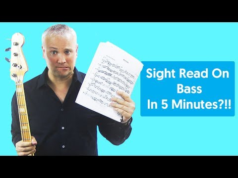 Sight Read On Bass in 5 Minutes?!