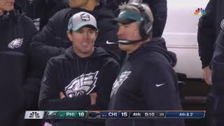 Eagles @ Bears 2018 NFL Wild Card Game | Last Drive and field goal attempt | January 6 2019