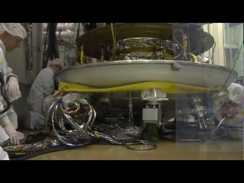 RBSP - Loading into thermal vacuum testing