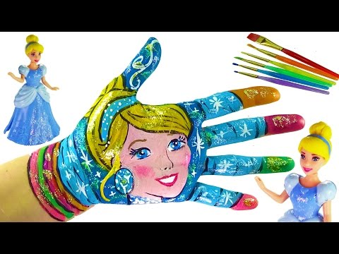 Learning Colors Video for Children Body Painting  | Learn Colors with Body Paint for Kids