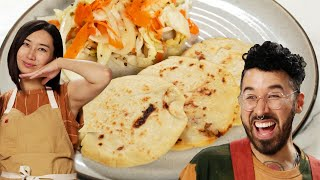 Can This Chef Follow A Pupusas Recipe In A Different Language? • Tasty
