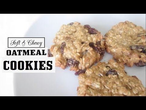 Soft and Chewy Oatmeal Raisin Cookies Recipe | FloralStud1216