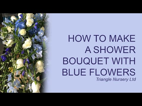 How to Make a Shower Bouqet