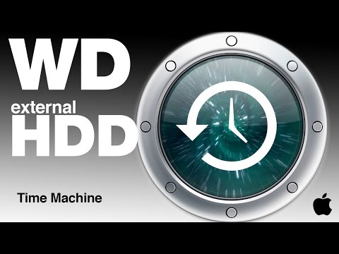 Western Digital and Time Machine Set up how to format how to use