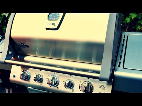 GAS GRILL REVIEW - NAPOLEON LEX 485