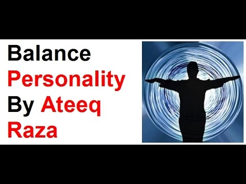 Balance Personality II  By Ateeq Raza In Urdu/Hindi