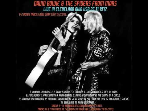 DAVID BOWIE...LIVE IN CLEVELAND OHIO 1972 + NEW YORK 1973