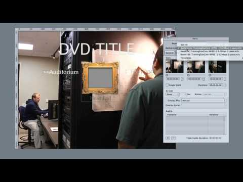 Basic Menu Creation in DVD Studio Pro