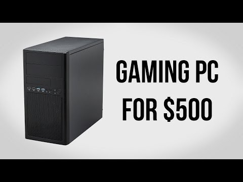 Build a Gaming PC for $500 - December 2013
