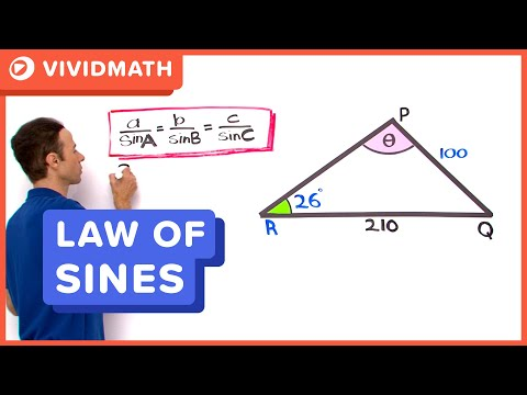 Finding Angles Using The Sine Rule - VividMaths.com