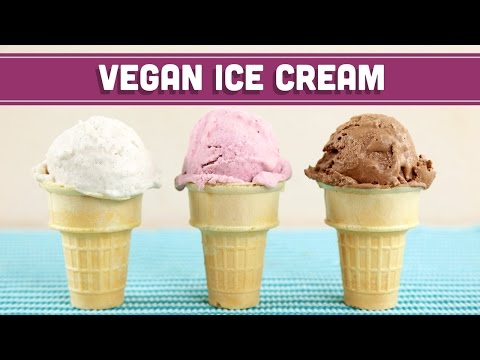Homemade Vegan Ice Cream (No Machine)! 3-Ingredients! Mind Over Munch