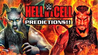 WWE Hell In A Cell PPV Predictions 9/16/18 Roman Reigns Defends Universal Championship
