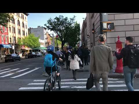 walking by Trader Joe's, Court St, Brooklyn, New York (5-14-18)