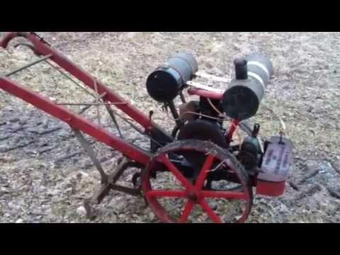 Merry Garden Auto Cultivator Antique Garden Tractor