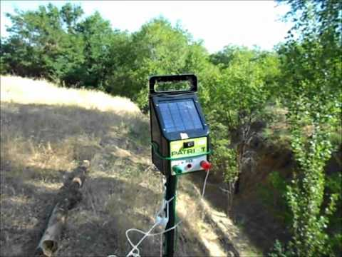 Electric Fence Charger Kit (Patriot PS5, Tread-In posts and Grounding Kit)