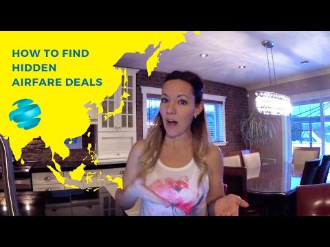 How to find hidden airfare deals
