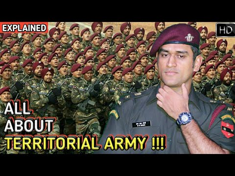 Territorial Army - Why & How To Join The Indian Territorial Army (Hindi)