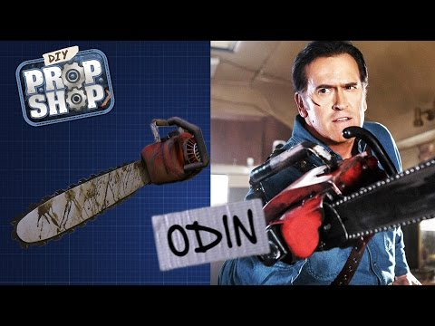 Evil Dead Chainsaw Hand - DIY PROP SHOP
