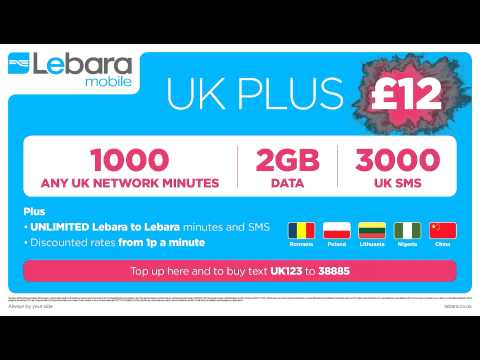 Lebara UK Plus