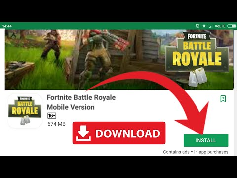 Fortnite Launched In Google Play Store? Fortnite Apk+Data | Fortnite For Mobile