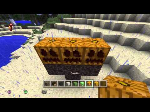 How 2 make a Wither Minecraft of PS4