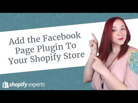 How to Add the Facebook Page Plugin To Your Shopify Store
